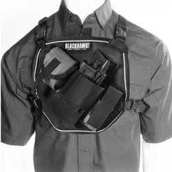 Blackhawk! U.S.A.R. Radio Chest Harness - Black