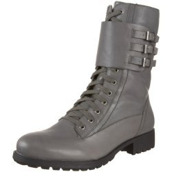 Kelsi Dagger Women'S Effie Laced Biker Boot,Grey,6 M Us
