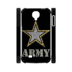 Jdsitem Creative Letter Army Star Design Dual-Protective Case Cover Sleeve Protector For Phone Samsung Galaxy S4 I9500