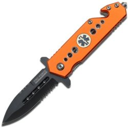 Tac Force Tf-716Em-S Tactical Assisted Opening Folding Knife 4-Inch Closed