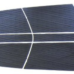 Bullet Proof Surf Sup Black Traction Pad - 12 Piece Diamond Tread Sup Deck Grip - Add Great Grip And Great Comfort To Your Sup In Minutes! Black