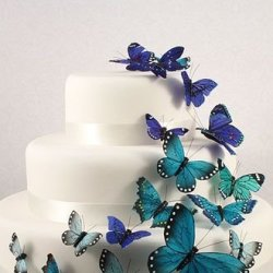 Beautiful Butterfly Cake Decorative Pack Of 25