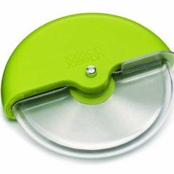 Joseph Joseph Scoot Pizza Wheel With Integrated Blade Guard, Green