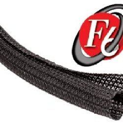 Techflex F6N1.50Bk10 F6 General Purpose 1-1/2-Inch Braided Cable Sleeve, Black - 10 Feet