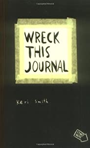 Wreck This Journal - and so it begins, with a cup of coffee (1/2)