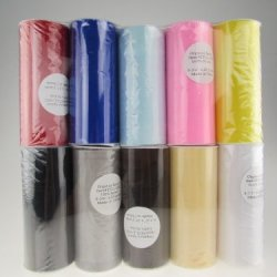 25 - Yard Sheer Organza Fabric Roll, 6-Inch Value Variety Pack (Classic Pack)
