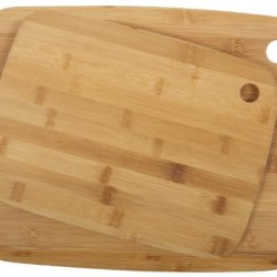 Core Bamboo Classic Cutting Board Combo Pack, Medium/Large