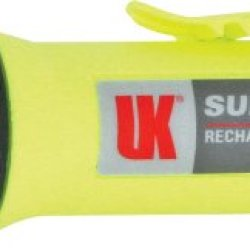 Underwater Kinetics Super Q Eled Rechargeable Flashlight (Fluorescent Yellow)