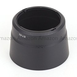 Generic Et-63 Bayonet Mount Lens Hood Work For Canon Ef-S 55-250Mm F/4-5.6 Is Stm Lens