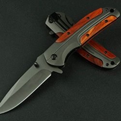 Black Executive Series Speedster Assisted Opening Knife Da43-8.07''