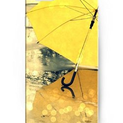 Ukase Yellow Umbrella Colorful Painted Plastic Case Cover For Apple Iphone 6 4.7Inch