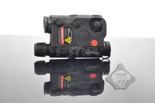 FMA AN-PEQ-15 アップグレードVer. LEDライト&レッドレーザー&IR レンズ BK 【H.T.G.秋のサバゲー応援キャンペーン実施中!詳しくはプロモーションページにて】
