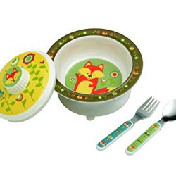 Sugarbooger Covered Suction Bowl Set, What Did The Fox Eat