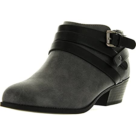 Alum series are designed with round toe front,low heel, it features with buckle strap on the shaft, very fashion, they are perfect for any season.