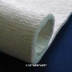 "1/2"" Ceramic Insulation Blanket For Quadrafire Wood Stoves & More. 25"" X 24"" X 1/2"""