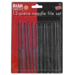 Beadsmith 12 Pc. Needle File Set - Wire Wrapping - Metal Work