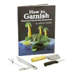 Chef Harvey 4431 English Garnish Book & Kit