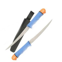 Fury Skipper Fillet, Blue/Orange Handle, Plain