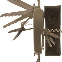 Se - Pocket Knife - Stainless Steel, 14 Function, 3.5In.