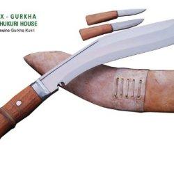 "Genuine Gurkha Full Tang Kukri Knife - 11"" Blade Iraqi Operation Khukuri Or Khukris - Handmade By Ex Gurkha Khukuri House In Nepal"