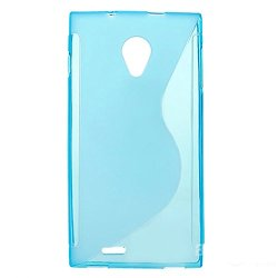 Dg550 Case Soft Tpu Cover Slim Silicone Skin Shell For Doogee Dagger Dg550 5.5 Inch (Blue)