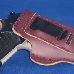 "Pro Carry Concealed Carry Gun Holster Smith And Wesson K Frame 3"" Revolvers 10 13 14 15 16 17 19 64 65 66 67 547 617 648 Lt Mahogony Rh"