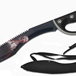 "Zombie Survival Gear 20"" Stainless Steel Blade Machete W/ D-Ring Grip"