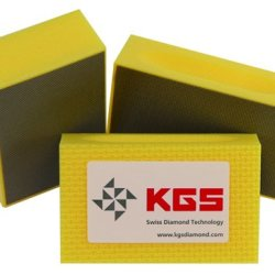 Kgs Diamond Pro-Pad 90X55Mm - 3 Set Ye 400 - Fine Grit Flexible Electro-Plated Diamond Sponge Blocks