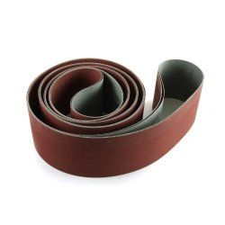 Fintech Abrasives Bfm1500207206 Flexible Metal Working Sanding Belt 2 X 72 150 Grit - 6 Pack