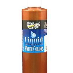 Handy Art By Rock Paint, 276-164, Washable Liquid Watercolor 1, Metallic Copper, 8-Ounce