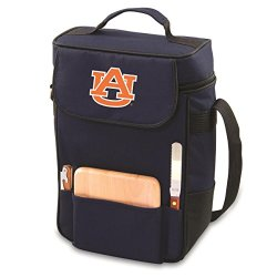 Auburn Tigers Duet Insulated Wine And Cheese Tote - Navy W/Digital Print