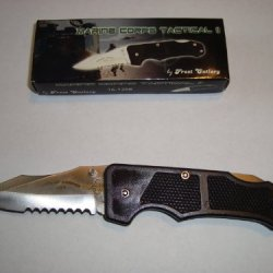 Trader One Llc Marine Corptactical Ii Lockblade Knife