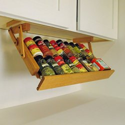 Ultimate Kitchen Storage Under Cabinet Spice Rack 'Valentines Day Sale'