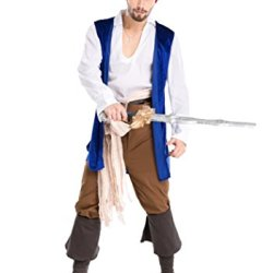 Pirate Costumes Sexy Halloween Costume For Men Erotic Apparel