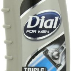 Dial For Men Body Wash, Triple Action, 16 Ounce