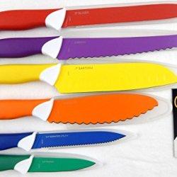 Emeril 6 Pc Multi Colored Knife Set