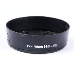 Hb-45 Bayonet Lens Hood + 52Mm Lens Cap For Nikon Af-S Dx18-55Mm F/3.5-5.6G Vr