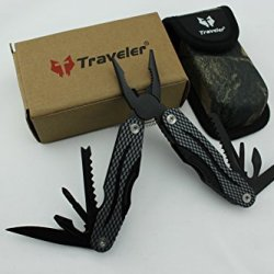 Stainless Steel Pocket Portable Outdoor Survival Tools Folding Multi-Tools Plier Knife