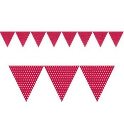 Paper Flag Banner Party Accessory