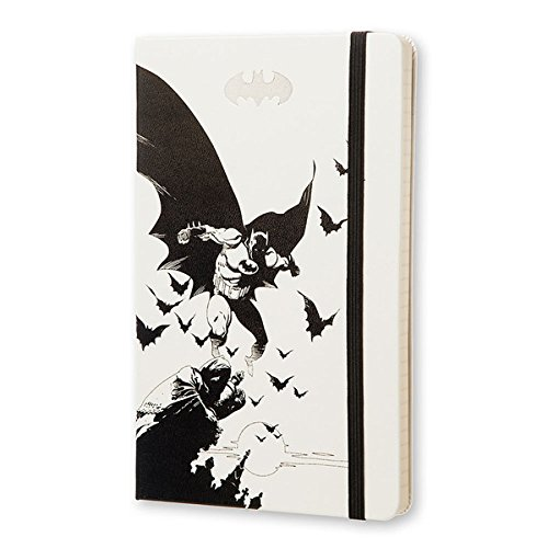 MOLESKINE BATMAN - モレスキン 限定版ノートブック ラージサイズ ルールド(横罫)