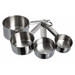 Practik Stainless Steel Measuring Cup Set Of 4
