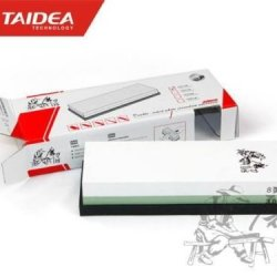 Taidea T0914W 3000/8000 Grit Knife Sharpener Corundum Whetstone Sharpening Stone