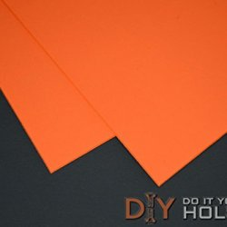 "Kydex T, P1 Haircell Finish, 8"" X 12"" X .080"", Safety Orange, 2 Sheets"