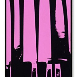 Purple Knives Polycarbonate Hard Case Cover For Iphone 4/4S Black