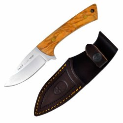 Muela Colibri Full Tang Fixed Blade Skinner 8-Inch, Olive Wood Scales