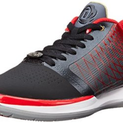 Adidas Performance Men'S D Rose Englewood Basketball Shoe, Black/Scarlet/Lead, 9 M Us