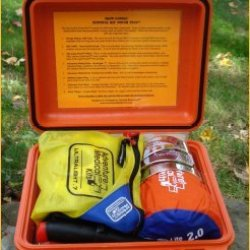 Survival Kit Pouch Plus Stainless Steel Knife By Survival Resources