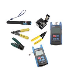 Ftth Tl37 Optical Fiber Cleaver And 10 Mw Optical Power Meter And Optical Light Source