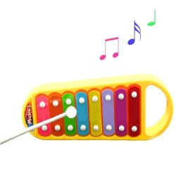 8-Note Xylophone Musical Toy For Baby Kids Wisdom Clever Ddstore
