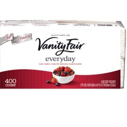 Vanity Fair Everyday, 400 Count